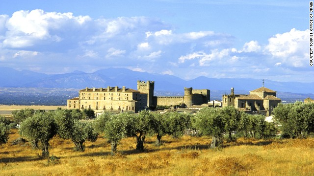 You don't need to pay a king's ransom to stay at any of our favorite European castle hotels, including the Parador de Oropesa (shown here) in Spain.