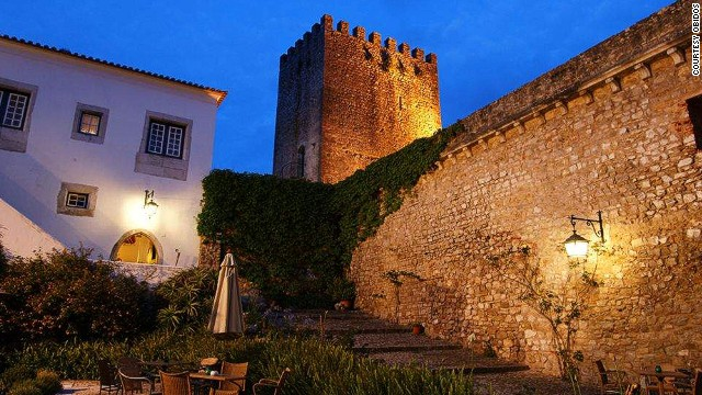 A 12th-century castle's plush pousada, Óbidos Pousada in Óbidos, Portugal is still available for a select few because it only has 17 spacious rooms.