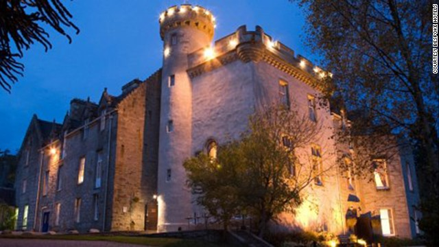 The 12th-century Tulloch Castle Hotel in Ross-shire, Scotland is rumored to have a resident ghost.