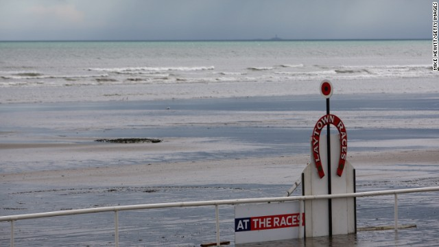 The course has the only winning post that is in danger of being swamped when the tide comes in.