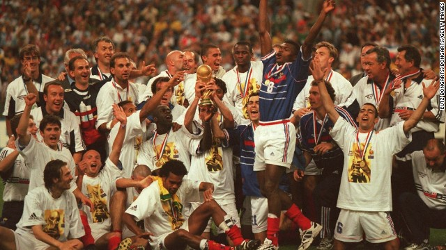"""We had the players from all around the world and I think we showed the diversity of the French national team,"" Vieira told CNN. ""We showed what the diversity of the French people are, and that's why it was really important to win the World Cup because we sent the message to the political world."""