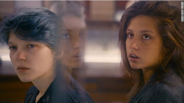 Adèle Exarchopoulos (right) stars in this French romantic coming of age drama. She plays Adèle, a high-school student who becomes troubled about her sexual identity.