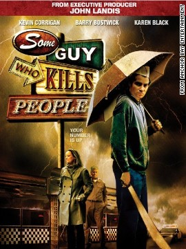 "Top marks here for a title that isn't ashamed to cut to the chase. ""Some Guy Who Kills People"" is about Ken Boyd, a lonely man fresh out of the loony bin, who sets out to kill those he deems responsible for his miserable life."