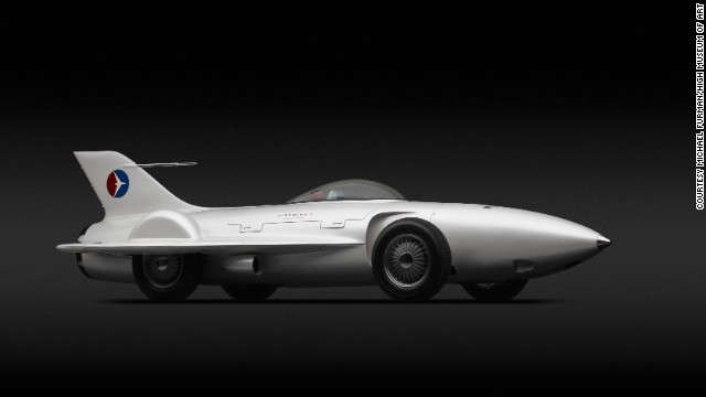 "The 1953 Firebird I XP-21 is among the spectacular concept cars featured at an Atlanta's High Museum of Art exhibit titled, ""Dream Cars."" This one-of-a-kind, plane-like automobile was created by legendary General Motors designer Harley Earl. Curators describe it as a ""rolling rocket."" Click through the gallery to see more of the exhibit."