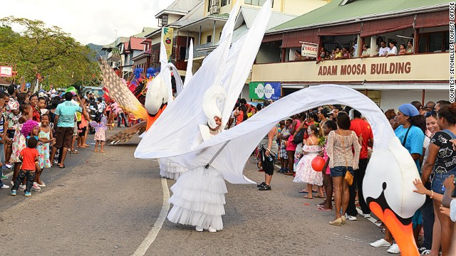 Over 1,500 join the festivities, with many designing elaborate costumes.