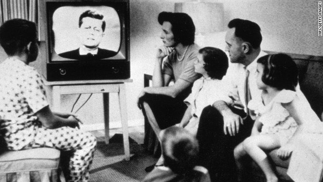 By 1960, television was firmly entrenched as America's new hearth. Close to 90% of households had a TV, making the device almost ubiquitous. The ensuing decade would see the medium grow in both importance and range.