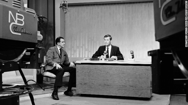 "Johnny Carson, with sidekick Ed McMahon, took over NBC's ""Tonight Show"" on October 1, 1962. Carson became a TV titan, hosting the program for 30 years and <a href='http://www.cnn.com/2005/SHOWBIZ/TV/01/24/carson.appreciation/'>setting the bar for every late-night host to follow</a>."
