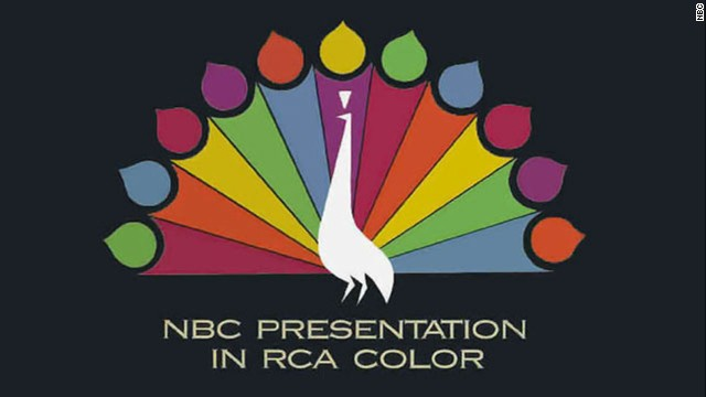 """The following program is brought to you in living color on NBC,""<a href='http://www.youtube.com/watch?v=cqPSI6tEvyE' target='_blank'> the announcer intoned</a>. The 1965 fall season opened with almost all of the ""Peacock Network's"" prime-time schedule <a href='http://www.earlytelevision.org/nbc_hatches_rainbow.html' target='_blank'>produced on color film</a>. By 1973, more than half of TV homes had a color set."