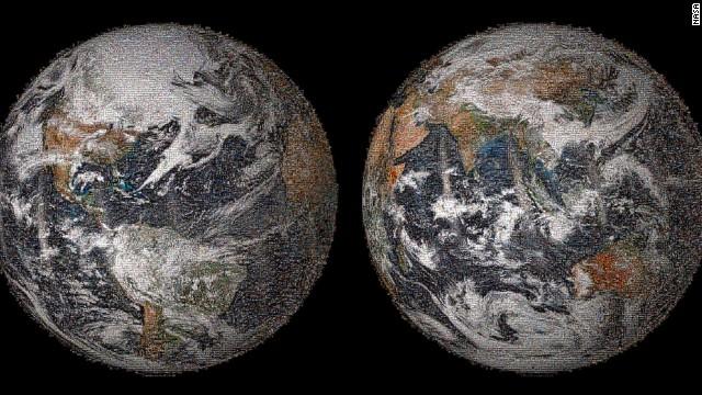 La NASA presenta la 'selfie' de la Tierra: ¿Puedes encontrarte en ella?