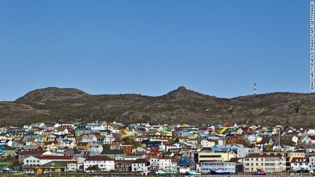 Visit St. Pierre and Miquelon islands (officially an Overseas Collectivity of France) off the eastern shores of Canada and you'll find total French-ness, from liqueur stores selling Bordeaux and Burgundy to patisseries selling croissants and pastries.