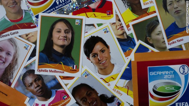 Panini released a sticker collection for the Women's World Cup in 2011 -- a sign of just how popular sticker collecting has become.