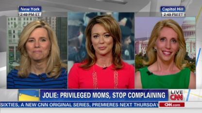 CNN moms talk work-life balance