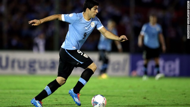 Suarez is Uruguay's all-time leading goalscorer with 38 goals in 77 appearances. His partnership with Paris Saint-Germain star Edinson Cavani is one of the most potent in international football.