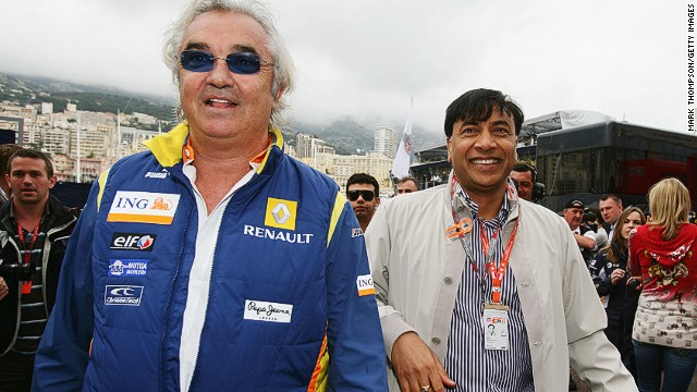 Briatore (left) doesn't have to sell his billionaire lifestyle to everyone. The Monaco Grand Prix is a place where real billionaires, such as Indian industrialist Lakshmi Mittal, come to mingle with wealthy peers. Mittal's fortune is estimated at $16.3bn.