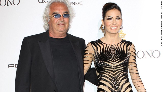 "Italian businessman Briatore says his Billionaire Club parties attract ""good looking"" people. Briatore is famous for dating models. He romanced supermodels Heidi Klum and Naomi Campbell before marrying Elisabetta Gregoraci."