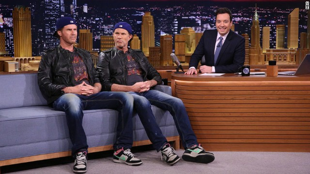 Will Ferrell, Chad Smith finally have that drum-off
