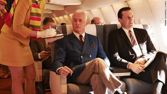 "Roger and Don take a trip in season 7 of ""Mad Men."""