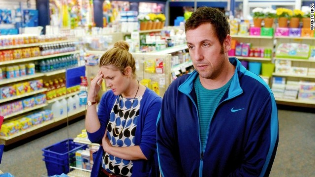 "The <a href='http://www.rottentomatoes.com/celebrity/adam_sandler/' target='_blank'>critics usually hate</a> Adam Sandler movies. Audiences, however, love them. Not so with <strong>""Blended,""</strong> which made $46 million on a $40 million budget. However, overseas it has made $77 million, so if there's a ""Blended 2,"" you'll know who it's for."