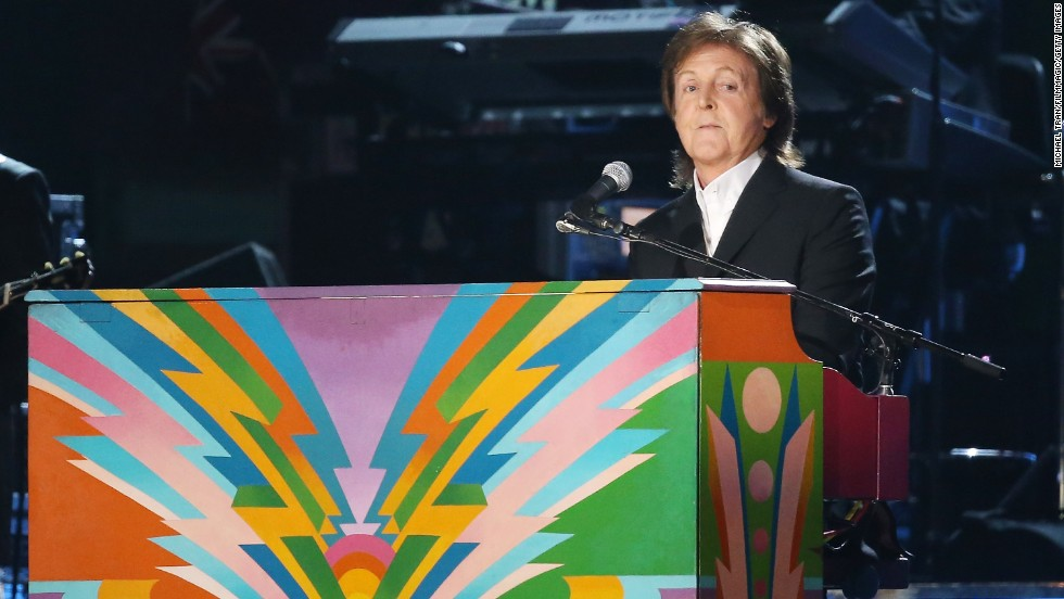 Happy birthday Paul McCartney! One of the last surviving members of The Beatles, he turned 72 on June 18.
