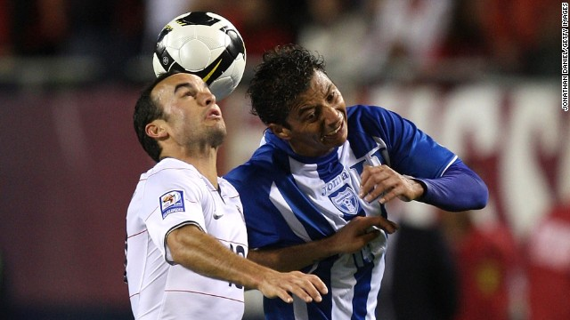 During a 2009 World Cup qualifier in Chicago, Donovan notched the goal to sink Honduras 2-1 and punch the United States' ticket to the World Cup. He would earn Honda's Player of the Year and Player of the Decade designations that year.