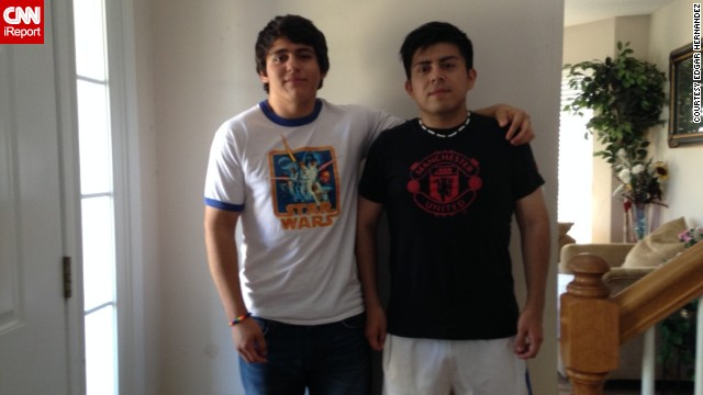 Edgar's older brother, Mario, has helped keep him motivated through most of his journey. Edgar's weight loss inspired Mario to start running alongside his brother. Mario has lost 70 pounds.