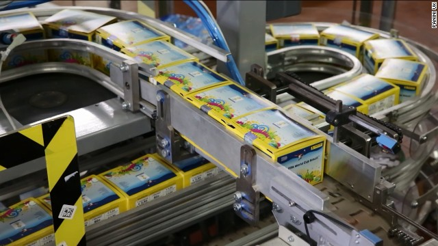 Panini can produce over 25 million packets of stickers a day; that's over 750 million individual stickers a week.