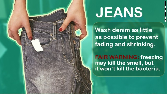 Levi's CEO Chip Bergh said this week that he doesn't recommend washing jeans. Like, ever. Here are a few other things you can get away with not washing regularly, and some you should never skip.
