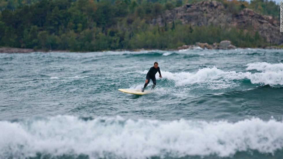 Lago Superior, Estados Unidos