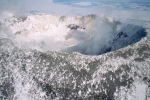 Monte Erebus, en la Antártida