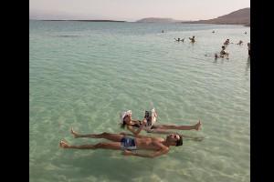 Mar Muerto, Israel / Jordania