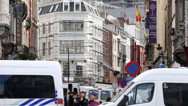 Tres muertos en un tiroteo en el Museo Judío de Bélgica