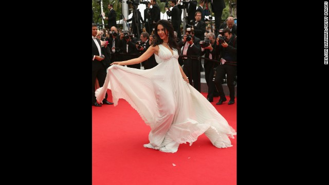 Mallika Sherawat on May 22.
