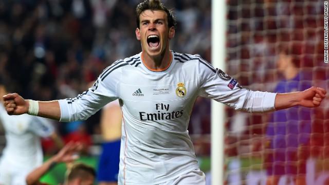 Gareth Bale -- Real Madrid/Wales.