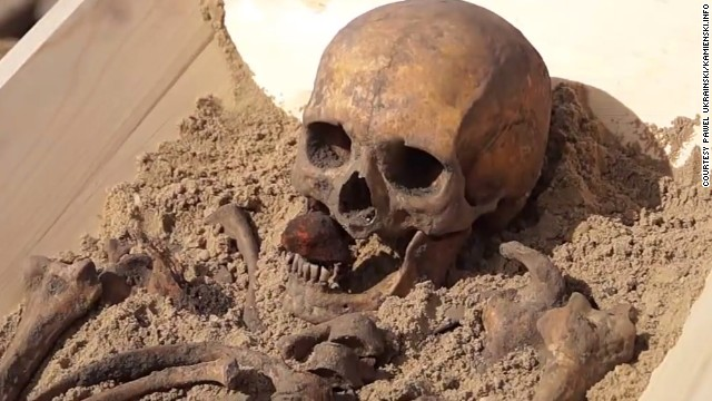 'Vampire' burial in Poland keeps alive the myth that will not die