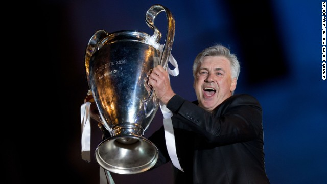 The beast has been slain thanks to matador Ancelotti
