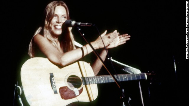 "Singer-songwriter Joni Mitchell hit the Top 10 with her single ""Help Me"" from her album ""Court and Spark,"" which remains Mitchell's best-selling work."