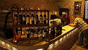 Eger\'s wine cellars: Thirsty work