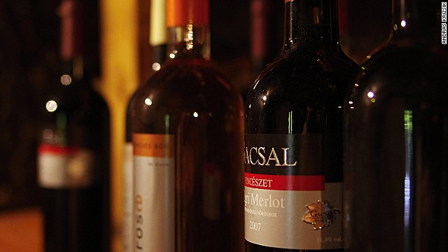 Gacsal is one of 200 individual cellars selling wines in Eger's Szepasszonyvolgy region -- also known as the Valley of the Beautiful Women.