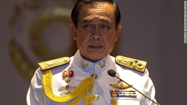 El jefe militar de Tailandia advierte que no tolerará manifestaciones