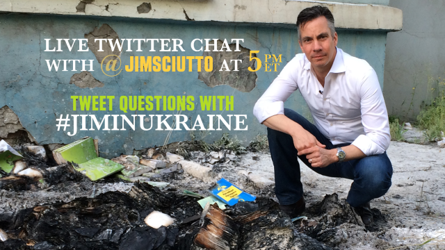 5 p.m. Ukraine Twitter chat with #JimInUkraine