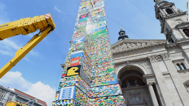 The completion tower was said to be timed to coincide with Children's day in Hungary.