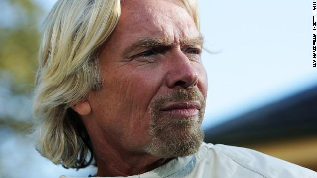 Sir Richard Branson poses to celebrate Virgin Money's Birthday in Australia on July 7, 2011 in Sydney, Australia.