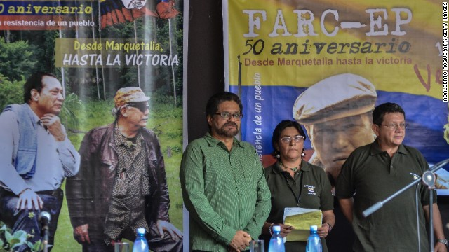 FARC declaran cese del fuego unilateral indefinido