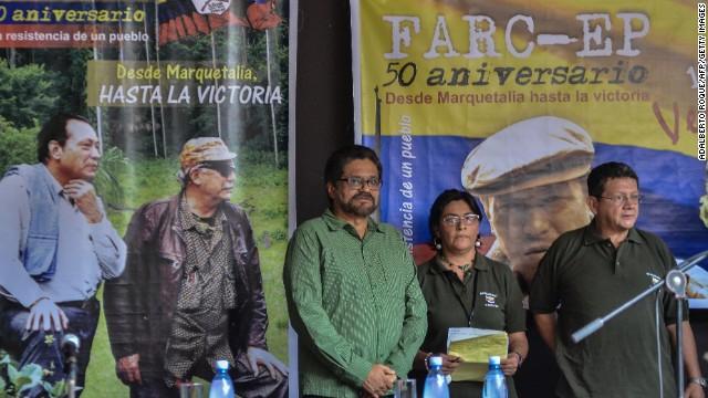 FARC dice que romperá la tregua unilateral si sus guerrilleros son atacados