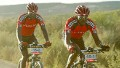 David Kinjah njau and Davidson Kamau kihagi of Kenya in action during stage 2 of the 2007 Absa Cape Epic Mountain Bike stage race.