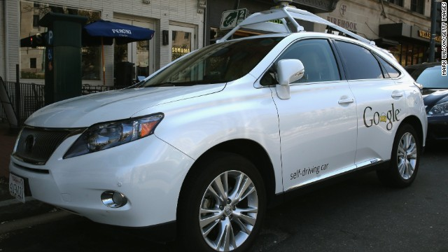 <a href='http://edition.cnn.com/2014/04/28/tech/innovation/google-self-driving-car/'>Google has logged over 300,000 miles testing driverless cars </a>around the United States. Pictured here is its Lexus RX 450H self-driving car parked on a street in Washington, D.C., in April 2014.