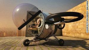 The solar helicopter that flies itself
