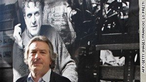 Robert De Niro at an exhibit of his father\'s works in 2005. De Niro Sr. is now the subject of a film by his son.