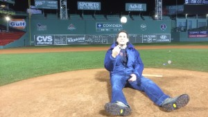 John Berman at Fenway
