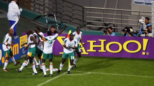 Senegal became the second African side to reach the quarterfinal stage of a World Cup in 2002. It kicked things off in style by defeating the reigning world champions France 1-0 on the opening day of the tournament.